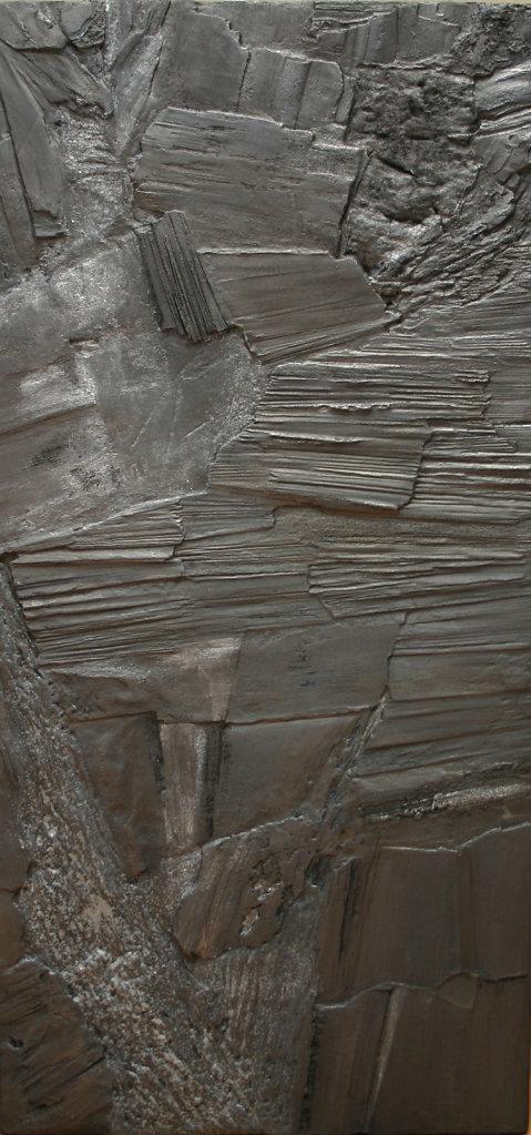 """""""Anthacite II"""" 80x45cm. Vente Hôtel Drouot 2010"""