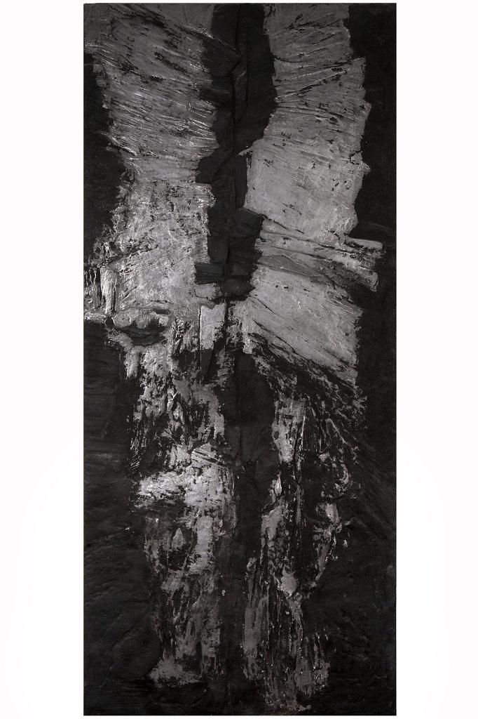 """L'Homme-cascade""  200x90cm"
